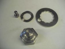 Rear hub locking kit (Stainless Steel)